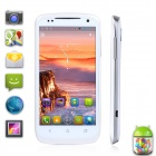 "UTime U100A Dual-Core MTK6577 Android 4.04 WCDMA Bar Phone w/ 4.6"" IPS, Wi-Fi and GPS - White"