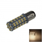 1157 / BAY15D 3.4W 300lm 68-SMD 1210 LED Warm White Car Directivo / trasera / luz de freno (12 V)
