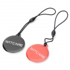 000324 NFC Smart Label for Blackberry / Samsung S4 / Xiaomi 3 + More - Black + Red (2PCS)