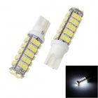 Merdia LEDD008C4C68 T10 2W 200lm 68 SMD 1210 LED White Light Indicator Lamp (12V / 2 PCS)