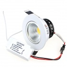 ZHISHUNJIA ZSJ-COB5W 5W 380lm 3500K COB LED Warm White Light Ceiling Lamp w/ Driver (85~265V)