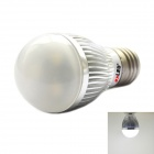 exLED E27 3W 180lm 6500K 3-LED White Light Bulb - Silver + White (220~240V)