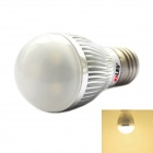 exLED E27 3W 140lm 3000K 3-LED Warm White Light Bulb - Silver White (220~240V)