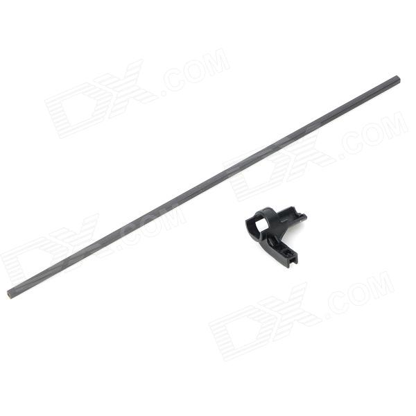 WLtoys V911-10 Replacement DIY ABS Carbon Fiber Rod + Tail Rotor Station for R/C Helicopter - Black