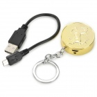 2014 Year of Horse Coins Style Oppladbar USB sigarettenner