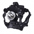 RichFire SF-520 Cree XM-L T6 750lm 4-Mode White Hunting Headlamp - Black + Silver (2 x 18650)