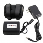 Kinfire CE impermeável 8.4V 6600mAh 2-Series-in-3-em paralelo 18650 Battery Pack w / Power Adapter