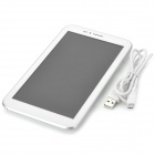 "Allfine FINE7 7-""Android 4.2 tokjerners Tablet PC med 512MB RAM / 4GB ROM / 2 x SIM-hvit"