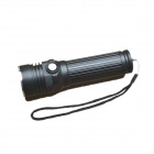 E-SMART Cree XM-L L2 850lm 3-Mode White Zooming Flashlight - Black (1 x 18650 / 26650)