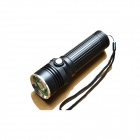 E-SMART LED 850lm 3-Mode White Zooming Flashlight - Black (1 x 18650 / 26650)