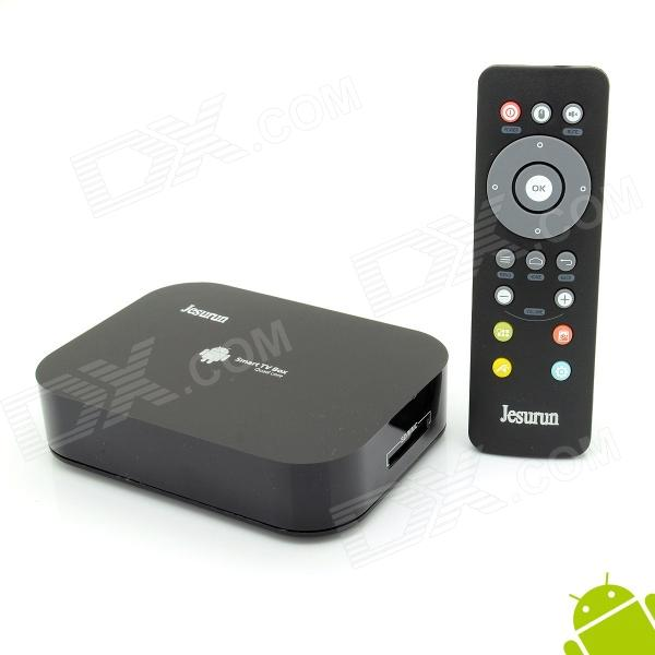 Jesurun A10 Quad-Core Android 4.2.2 TV Player w/ 2GB RAM, 8GB ROM, Bluetooth - Black (US Plug)