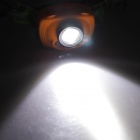 SingFire SF-633 1 LED branco + 2-LED Red Farol - Orange + Black (3 x AAA)