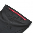 TOPCYCLING SAF206 Outdoor Cycling Nylon + Spandex Leg Sleeves - Black + Red (XXL)