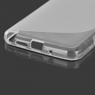 « S » Style anti-dérapant protection TPU Case pour Samsung Galaxy Note 3 Lite / noter Neo 3 / N7505 - blanc