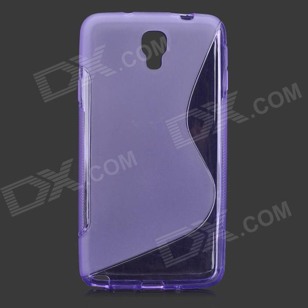 S Style Anti-Slip Protective TPU Case for Samsung Galaxy Note 3 Lite / Note 3 Neo / N7505 - Purple pudini wb note 3 protective pc back case for samsung galaxy note 3 white