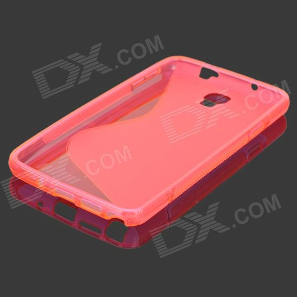 s style anti slip tpu case for samsung galaxy note 3 lite note 3 neo n7505 deep pink. Black Bedroom Furniture Sets. Home Design Ideas