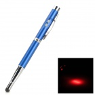 4-in-1 Capacitive Touch Screen Stylus Pen w/ Ballpoint Pen / LED Flashlight / Laser Pointer - Blue