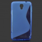 """S"" Style Anti-Slip Protective TPU Case for Samsung Galaxy Note 3 Lite / Note 3 Neo / N7505 - Blue"