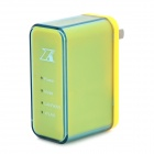 ZK-W58 Portable Mini 150Mbps Wi-Fi Wireless Router w/ USB / Ethernet - Yellow