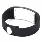 Personalized Signature 3D Pedometer Smart Watch - Black