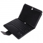 Bluetooth V3.0 Keyboard w/ Protective PU Case for Samsung Galaxy Note 10.1 P600 - Black
