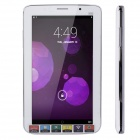 "JXD P1000F 7"" Dual Core Android 4.2 Phone Tablet w/ Wi-Fi / Bluetooth / GPS / FM - White + Silver"
