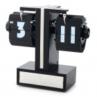 Small Scale Style Paging Desk Clock - Black