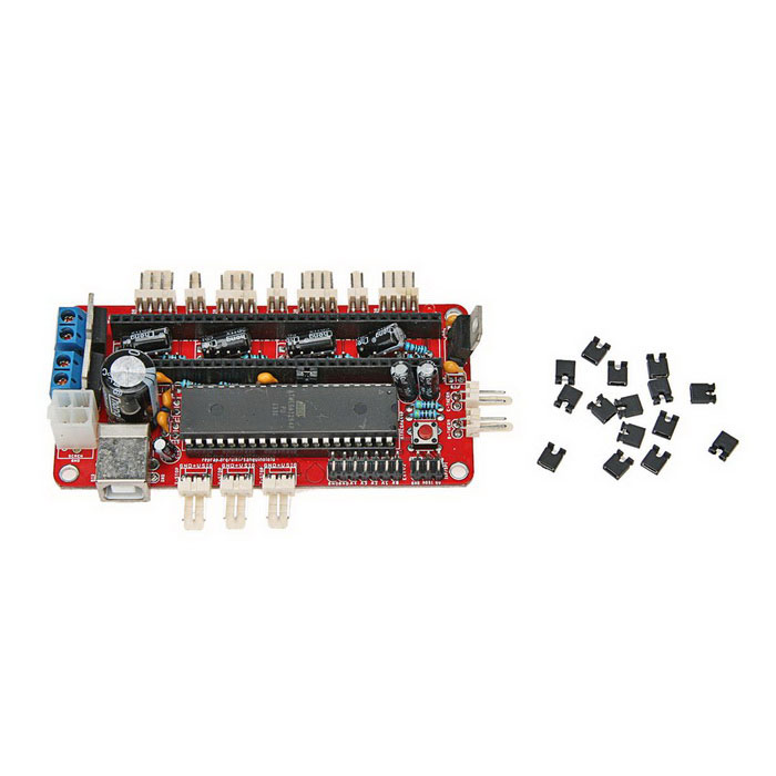 EG Teensylu v0.8 3D Printer Teensylu V0.8 Board Hi3D RepRap Prusa Mendel Printer Driver Board - Red поднос zeller 35 х 26 см
