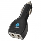 STAR GO ST-07 2-Port USB 5V 2100mA Car Charger - Black (12~24V)