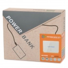 "SWPKPOWER 8867 Universal Dual USB 5V ""10000mAh"" Li-ion Battery Power Bank - White"