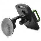 "360 Degree Rotary Car Mount Holder for 7~11"" Tablets - Green + Black"