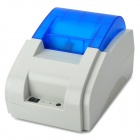 USB Supermarket Cashier Lable Printer - White + Blue