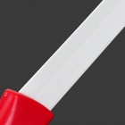 CK-22 2-in-1 Zirconia Ceramics Knife + Peeler Set - Red + White