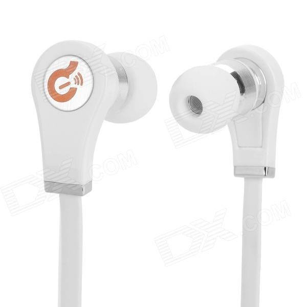 Syllable G03-002 Stereo In-Ear Earphone - White (3.5mm)