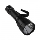 SingFire SF-C8 CREE XP-E R2 200lm 5-Mode White LED Tactical Flashlight - Black (1 x 18650)