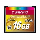 Transcend 16GB 1000x Compact flash Card 160/70 MB/s