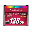 Transcend 128GB 800x Compact flash Card 120/60 MB/s