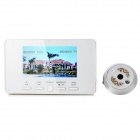 "4.3"" TFT Screen 300KP Camera Wireless Video Doorbell w/ 1-IR LED"