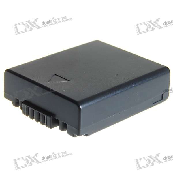 Panasonic S002E Compatible 720mAh Battery Pack for Panasonic LUMIX DMC-FZ1/DMC-FZ10 + More