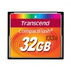 Transcend 32GB 133x Compact flash Card 40/15 MB/s