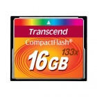 Transcend 16GB 133x Compact flash Card 40/15 MB/s