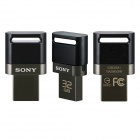 Sony 2 in 1 Dual Connector USB OTG Drive for smartphones and tablets - 32G Black
