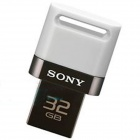 Sony 2 in 1 Dual Connector USB OTG Drive for smartphones and tablets - 32GB White