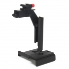 Universal Flash Metal Bracket Mount for Camera  - Black