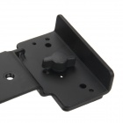 Universal Flash Metal braketten Mount for kameraet - svart