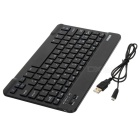 B.O.W Wireless Bluetooth V3.0 79-Key Keyboard for iOS / Android / Windows Tablet PC / Phone - Black