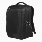 "SENDIWEI S-208B Fashionable Nylon Travel Backpack for 14"" Notebook Laptop - Black"