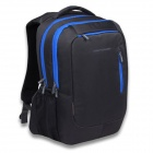 "SENDIWEI S-208B Fashionable Nylon Travel Backpack for 14"" Notebook Laptop - Deep Gray + Black + Blue"