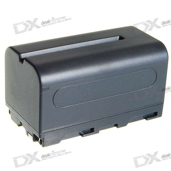 NP-F770 Compatible 4000mAh Battery Pack for Sony CCD-RV100/CCD-RV200 + More цена
