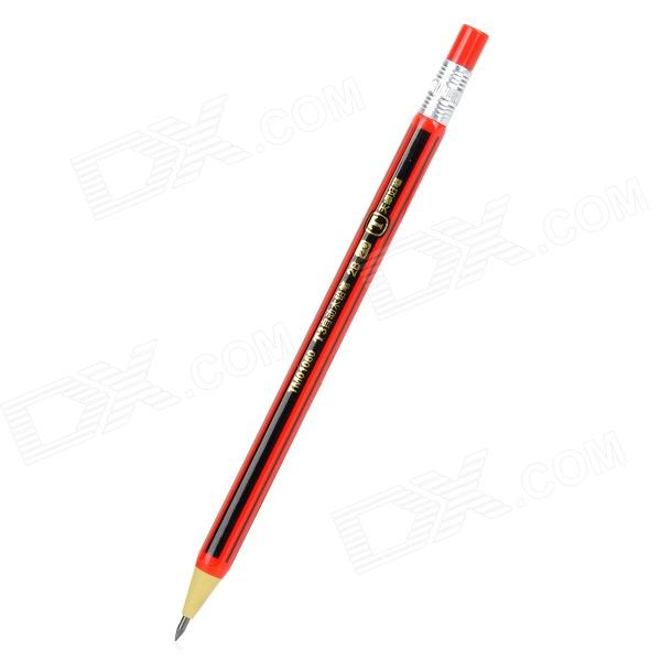 TM01060 Simple & Convenient Automatic Pencil w/ Refills - Black + Red